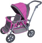 Passeggino Big twin purple